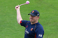 Essex assistant head coach Anthony McGrath during Kent Spitfires vs Essex Eagles, Royal London One-Day Cup Cricket at the St Lawrence Ground on 17th May 2017