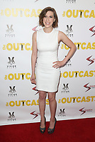WESTWOOD, CA - April 13: Eden Sher, At Premiere Of Swen Group's &quot;The Outcasts&quot; At The Landmark Regent  In California on April 13, 2017. <br /> CAP/MPIFS<br /> &copy;MPIFS/Capital Pictures
