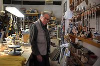 Capalbio.Paul H. Dunn,artigiano e entomologo.