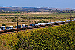 Transporte ferroviário de aço da CSN, Barra Mansa, Rio de Janeiro. 2004. Foto de Juca Martins.