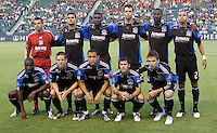 San Jose Earthquakes starting eleven. The LA Galaxy and the San Jose Earthquakes played to a 2-2 draw at Home Depot Center stadium in Carson, California on Thursday July 22, 2010.