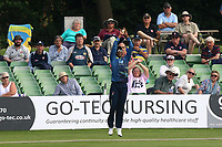 Daniel Bell-Drummond of Kent takes a catch to dismiss Ashar Zaidi during Kent Spitfires vs Essex Eagles, Royal London One-Day Cup Cricket at the St Lawrence Ground on 17th May 2017