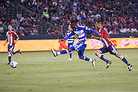 FC Dallas defeated CD Chivas USA 2-1 at Home Depot Center stadium in Carson, California on June 18, 2011....