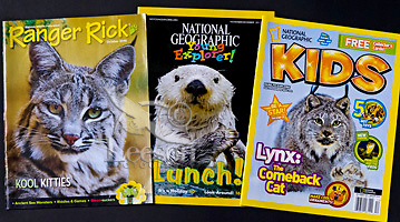 Rick Ranger and National Geographic for Kids Magazine
