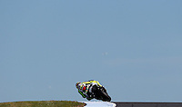 Yamaha MotoGP rider Valentino Rossi of Italy rides during the third practice session of the Australian Motorcycle GP in Phillip Island, Oct 19, 2013. Photo by Daniel Munoz/VIEWpress. IMAGE RESTRICTED TO EDITORIAL USE ONLY