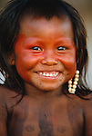 Kayapo child, Xingu River rigion, Brazil