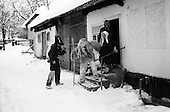 Maramures, Romania<br /> December 31,1992<br /> <br /> New Years eve ritual.