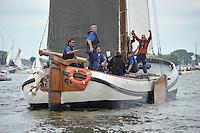 ZEILEN: HEEG: Hegemer Mar, 16-08-2016, IFKS Skûtsjesilen, ©foto Martin de Jong