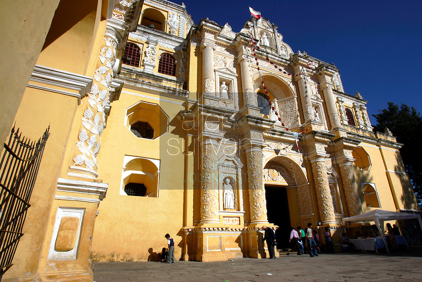 La Iglesia La Merced was finished in 1767, when Antigua was still the capital city.<br />