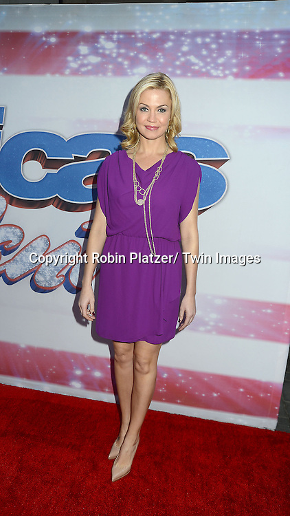 """Michelle Beadle attends the """"America's Got Talent""""  New York Auditions.on April 8, 2013 at the Today Show in New York City. ."""