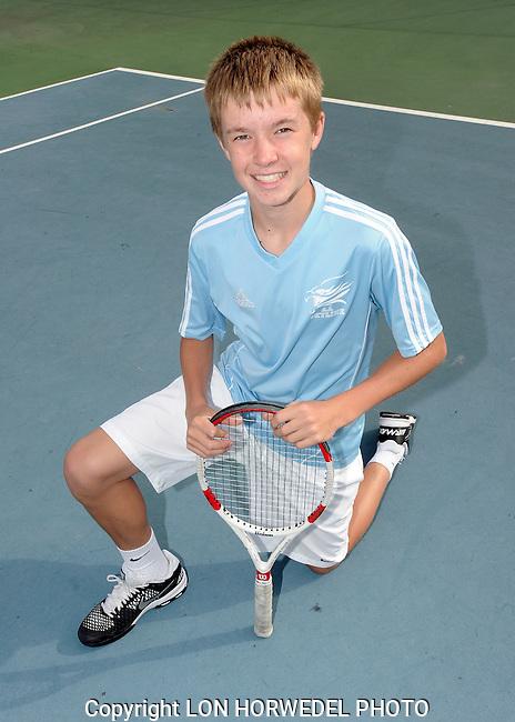 Skyline High School boy's varsity tennis team, 10-7-14.