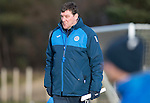 St Johnstone Training&hellip;.27.12.16<br />Manager Tommy Wright pictured in training this morning at McDiarmid Park ahead of tomorrow&rsquo;s game against Rangers<br />Picture by Graeme Hart.<br />Copyright Perthshire Picture Agency<br />Tel: 01738 623350  Mobile: 07990 594431