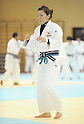 Kana Abe, MARCH 28, 2012 - Judo : Japanese women's national team open the practice for press at Ajinomoto National Trining center in Itabashi, Japan. (Photo by Atsushi Tomura /AFLO SPORT) [1035]