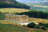 Segesta, Sicily, Italy, May 2007. The ancient greeks ruins of Segesta. The rugged nature of sicily harbours beautiful villages and ruins of ancient civilizations. Photo by Frits Meyst/Adventure4ever.com