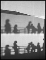 From &quot;Miami in Black and White&quot; series.<br /> Dadeland North metrorail station, Miami, FL