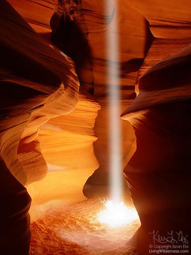 Beam, Antelope Canyon, Page, Arizona
