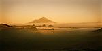 Sunrise on Mount Taranaki (Egmont). Taranaki Region. New Zealand