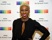 Cynthia Erivo arrives for the formal Artist's Dinner honoring the recipients of the 39th Annual Kennedy Center Honors hosted by United States Secretary of State John F. Kerry at the U.S. Department of State in Washington, D.C. on Saturday, December 3, 2016. The 2016 honorees are: Argentine pianist Martha Argerich; rock band the Eagles; screen and stage actor Al Pacino; gospel and blues singer Mavis Staples; and musician James Taylor.<br /> Credit: Ron Sachs / Pool via CNP