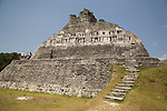 The Mayan ruins of Xunantunich, The Stone Maiden, or Lady of the Rocks, named after an apparition of a woman who has appeared at the site, located in the Cayo District of Belize. Most of the structures date from the Maya Classic Era, about 200 to 900.