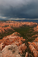 730750204v during a monsoon summer thunderstorm in bryce canyon national park utah united states
