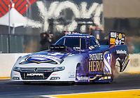 Jul 29, 2016; Sonoma, CA, USA; NHRA funny car driver Jack Beckman during qualifying for the Sonoma Nationals at Sonoma Raceway. Mandatory Credit: Mark J. Rebilas-USA TODAY Sports