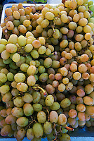 Farm-fresh produce fresh, Yellow  Grapes, Farmers Market