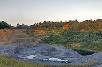 Slate quarry in Buckingham County, VA. Photo/Andrew Shurtleff