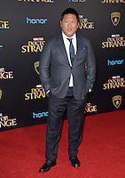 LOS ANGELES, CA. October 20, 2016: Benedict Wong at the world premiere of Marvel Studios' &quot;Doctor Strange&quot; at the El Capitan Theatre, Hollywood.<br /> Picture: Paul Smith/Featureflash/SilverHub 0208 004 5359/ 07711 972644 Editors@silverhubmedia.com