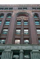 Portland: Dekum Building, Facade, 1892.  Photo '86.