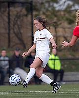 Boston College forward Alaina Beyar (17) at midfield.  Boston College defeated Marist College, 6-1, in NCAA tournament play at Newton Campus Field, November 13, 2011.