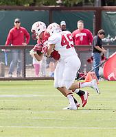 Stanford, CA - April15, 2017:  Lewis Burik at Cagan Stadium.
