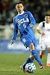 12 December 2014: UCLA's Jordan Vale (NZL). The University of California Los Angeles Bruins played the Providence College Friars at WakeMed Stadium in Cary, North Carolina in a 2014 NCAA Division I Men's College Cup semifinal match. UCLA won the game 3-2 in overtime.