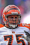4 November 2007: Cincinnati Bengals guard Scott Kooistra warms up prior to a game against the Buffalo Bills at Ralph Wilson Stadium in Orchard Park, NY. The Bills defeated the Bengals 33-21 in front of a sellout crowd of 70,745...Mandatory Photo Credit: Ed Wolfstein Photo