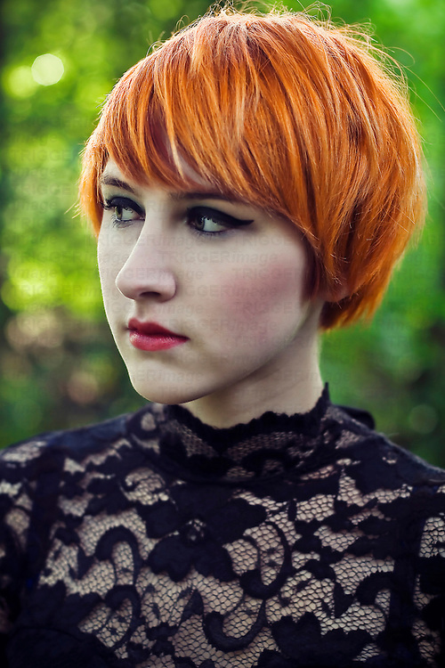 Orange, Yellow hair and Hair on Pinterest