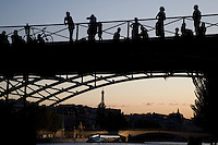 Pont Arts Bridge; Paris; France