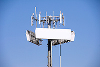 cell site, antennas, electronic communications, equipment, tower, elevated structure, mounted antennas