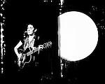 Singer/songwriter Zoe Boekbinder plays a show in Monterey, Calif.