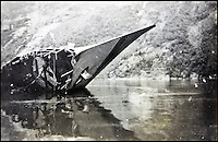 BNPS.co.uk (01202 558833)<br /> Pic: AlexanderHistoricalAuctions/BNPS<br /> <br /> The wreckage of the sunken German destroyer Bernd von Arnim.<br /> <br /> Fascinating images which provide a snapshot of life on a German U-Boat have been unearthed.<br /> <br /> Interestingly, the photographs give us an insight into joyous occasions on the U-976 destroyer including alcohol fuelled parties and gatherings in the mess hall.<br /> <br /> The photo album which was collated by First Officer Lieutenant Wilhelm Hinrichs has now emerged for auction and is tipped to sell for &pound;1,200.<br /> <br /> The U-976 was sunk on March 25, 1944, just a few months before the Normandy landings, near St Nazaire in France by gunfire from two British Mosquito fighter-bombers.