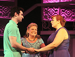 """Guiding Light's Kim Zimmer stars with Molly Tower and Kevin Toniazzo-Naughtonl in """"It Shoulda Been You"""" - a new musical comedy - at the Gretna Theatre, Mt. Gretna, PA on July 30, 2016. (Photo by Sue Coflin/Max Photos)"""