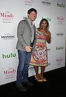 WEST HOLLYWOOD, CA - SEPTEMBER 09: Mindy Kaling, Ike Barinholtz attends The Mindy Project 100th Episode Party at E.P. & L.P. on September 9, 2016 in West Hollywood, California. (Credit: Parisa Afsahi/MediaPunch).
