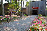 Glass Studio entrance, Wheaton Arts and Cultural Center, Millville, New Jersey