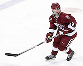Gina McDonald (Harvard - 10) - The Harvard University Crimson defeated the Northeastern University Huskies 4-3 (SO) in the opening round of the Beanpot on Tuesday, February 8, 2011, at Conte Forum in Chestnut Hill, Massachusetts.