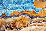 Orange and Blue Stone, Point Lobos, California