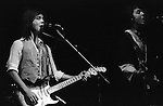 """Jimmy McCulloch Paul and Linda McCartney Wings Tour 1975. The photographs from this set were taken in 1975. I was on tour with them for a children's """"Fact Book"""". This book was called, The Facts about a Pop Group Featuring Wings. Introduced by Paul McCartney, published by G.Whizzard. They had recently recorded albums, Wildlife, Red Rose Speedway, Band on the Run and Venus and Mars. I believe it was the English leg of Wings Over the World tour. But as I recall they were promoting,  Band on the Run and Venus and Mars in particular."""