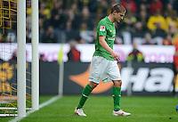 FUSSBALL   1. BUNDESLIGA   SAISON 2011/2012   26. SPIELTAG Borussia Dortmund - SV Werder Bremen               17.03.2012 Aleksandar Ignjovski (SV Werder Bremen) ist enttaeuscht