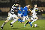 St Mirren v St Johnstone...25.03.14    SPFL<br /> Lee Croft breaks forward<br /> Picture by Graeme Hart.<br /> Copyright Perthshire Picture Agency<br /> Tel: 01738 623350  Mobile: 07990 594431