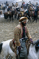"""A Buzkashi between North Alliance teams in Badakshan..""""bOzkashI"""" is one of the ancient games played in Afghanistan. The name of this game is perhaps derived from hunting mountain goats by ancient champions n horseback..-The full text reportage is available on request in Word format"""