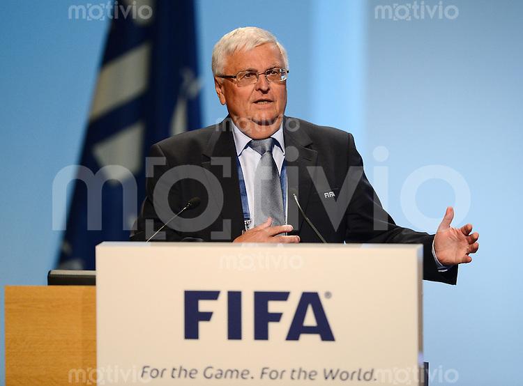 Fussball International  62. FIFA  Kongress in Budapest 2012    25.05.2012 Theo ZWANZIGER (Deutschland, FIFA-Exekutivkomitee)