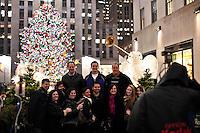 People take part during christmas season in New York, United States. 08/12/2011.  Photo by Kena Betancur / VIEWpress.