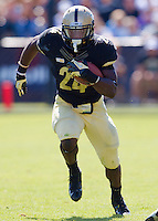 WEST LAFAYETTE, IN - SEPTEMBER 15:  Running back Akeem Shavers #24 of the Purdue Boilermakers runs the ball against the Eastern Michigan Eagles at Ross-Ade Stadium on September 15, 2012 in West Lafayette, Indiana. (Photo by Michael Hickey/Getty Images)***Local Caption***Akeem Shavers